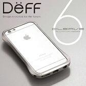 【Deff直営ストア】iPhone6用、iPhone6s用アルミバンパー「Cleave」