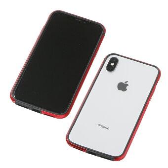 iPhoneXAluminum&TPULightweightBumperAEROforiPhoneXワイヤレス充電対応エアロバンパーケース