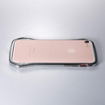 "iPhone8/iPhone7チタンバンパーケースCleaveTitaniumBumperPremiumEditionバンパー究極の金属素材""チタン""で作られたiPhone用プレミアムバンバー【送料無料】"
