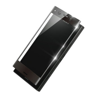 XperiaXZ強化ガラスフィルムラウンドした画面の端まで強力保護3D成形ドラゴントレイルX透明クリア割れ難いdocomoSO-01JauSOV34Softbank【送料無料】