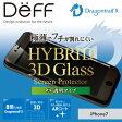 iPhone7 強化ガラスフィルム 極薄でフチが割れにくい 3D成形 ドラゴントレイルX 透明クリア 強力保護 Apple docomo au Softbank 【送料無料】