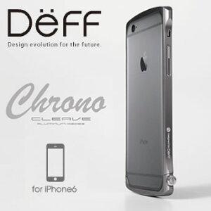 予約受付中 10月中旬〜下旬発送予定】iPhone6用アルミバンパーCLEAVE Chrono ALUMINUM BUMPER持...