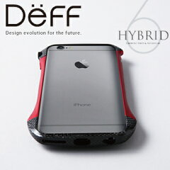 【Deff直営ストア】iPhone6用アルミバンパー CLEAVE Hybrid Bumper for iPhone 6【送料無料】新規納期納期11月下旬発送予定