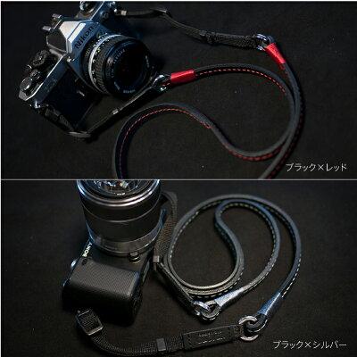 最高級イタリアンレザーを使用したハンドメイドネックストラップIndi series【Neck】カメラスト...