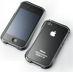iPhone4Sにも対応!! アルミ素材を使ったiPhone4/4S用バンパーアルミ製iPhone4/4S用バンパー(ケ...