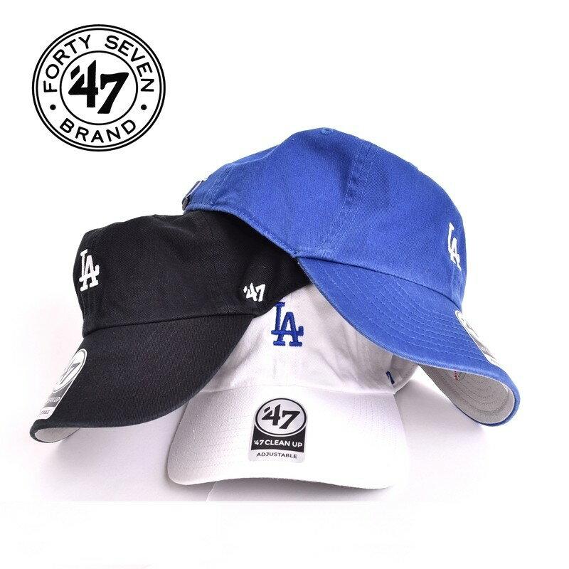 47Brand フォーティーセブンブランド クリーンナップ CLEAN UP キャップ スナップバック LA 帽子 ロサンゼルス ドジャース メンズ レディース