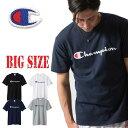 チャンピオン Champion 半袖Tシャツ ロゴ ベーシック アメカジ 3L 4L 5L 大きいサイズ メンズ あす楽