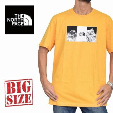 ノースフェイス 半袖 ロゴプリント Tシャツ USAモデル XL XXL THE NORTH FACE STANDARD FIT 大きいサイズ メンズ [M便 1/1]