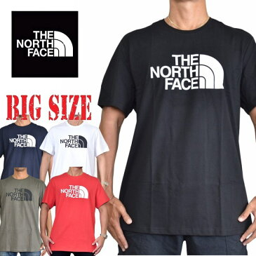ノースフェイス 半袖 Tシャツ ロゴ プリント USAモデル ハーフドーム S M L XL XXL 黒 白 青 赤 黄色 ネイビー グレー THE NORTH FACE HALF DOME STANDARD FIT 大きいサイズ メンズ [M便 1/1]
