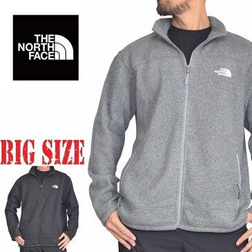 ノースフェイス THE NORTH FACE 裏ボアフリースジャケット LEO SWEATER フルジップ XL XXL 大きいサイズ メンズ あす楽