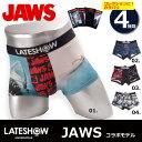 レイトショー【LATESHOW 】ボクサー ブリーフ パンツ 18593700 JAWS コラボ ブ ...