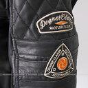 先行予約受付中 記念 レザージャケット ヴィンテージ バイク 革ジャン ライダースジャケット ANJ-1 (ブラック) 送料無料