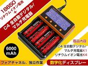 ポイント デジタル リチウム バッテリー デュアル チャネル