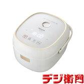 パナソニック3.5合炊きIH炊飯ジャー炊飯器SR-KT069-W/【送料区分Sサイズ】