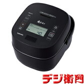 TOSHIBA東芝10合炊き圧力IH炊飯ジャー炊飯器真空圧力IHRC-18VSR(K)[グランブラック]/【送料区分Mサイズ】