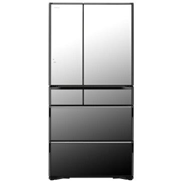 (お取り寄せ)日立 R-WX74J X 735L 6ドアノンフロン冷蔵庫 ラグジュアリーWXシリーズ クリスタルミラー [RWX74JX] ※配送・設置は、最寄のエディオン配送センターよりお伺いいたします。[全国送料無料 ※一部地域を除く]