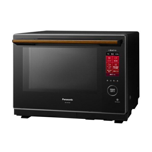 パナソニック NE-BS1600-K スチームオーブンレンジ コンベクションオーブン2段調理タイプ30L Bistro ブラック [NEBS1600K]