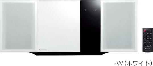 (お取り寄せ)Panasonic パナソニック コンパクトステレオシステム SC-HC395-W(ホワイト)(SCHC395W)Bluetooth対応ミニコンポ