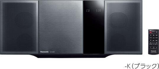(お取り寄せ)Panasonic パナソニック コンパクトステレオシステム SC-HC395-K(ブラック)(SCHC395K)Bluetooth対応ミニコンポ