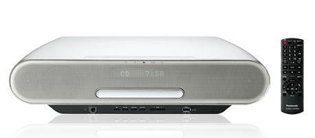 (お取り寄せ)Panasonic パナソニック コンパクトステレオシステム SC-RS75-W(ホワイト)(SCRS75W)Bluetooth対応ミニコンポ