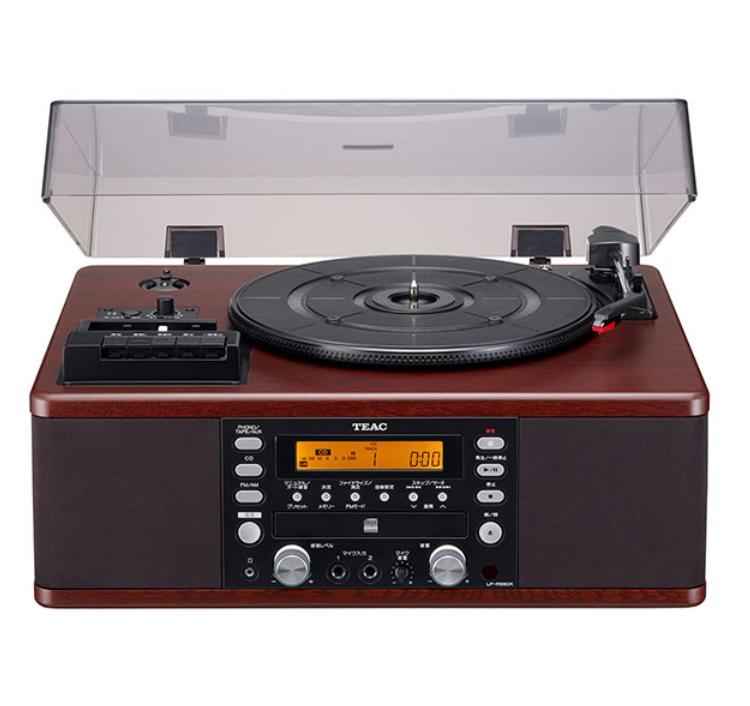 コンポ用拡張ユニット, レコードプレーヤー TEAC LP-R560K-WA CD LPR560KWA
