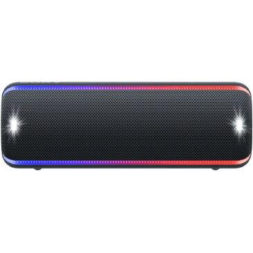 (納期未定)SONY SRS-XB32 B ワイヤレスポータブルスピーカー EXTRA BASS ブラック [SRSXB32B]