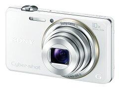 【送料無料】ソニー SONYサイバーショット Cyber-shot DSC-WX100-Wデジタルカメラ ピタッとズ...