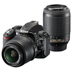 スーパーSALE!!【送料無料】ニコン (Nikon)デジタル一眼カメラ/ダブルズームキットD3100[一眼レ...