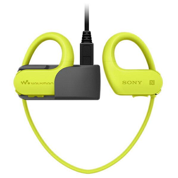 (お取り寄せ:納期未定)SONY ポータブルオーディオプレーヤー(4GB) ウォークマンWシリーズ[メモリータイプ] ライムグリーン NW-WS623 G [NWWS623G]