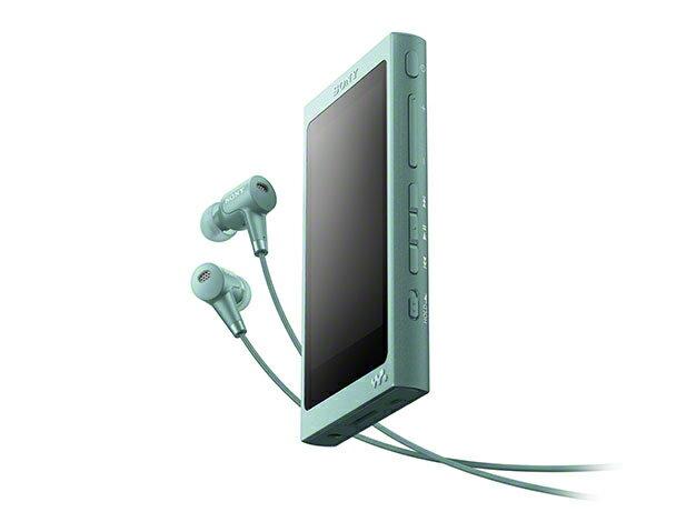(お取り寄せ)SONY NW-A45HN(G) ホライズングリーン 16GB ソニー ハイレゾ/Bluetooth/microSD対応ウォークマン イヤホン付属 [NWA45HNG]