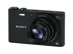 【★在庫あり:4/11入荷】ソニーSONYデジタルカメラCyber-shot(サイバーショット)DSC-WX350-B(ブラック)【長期安心保証対象商品】