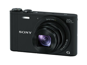 【お取り寄せ】ソニー SONYデジタルカメラ Cyber-shot(サイバーショット) DSC-WX350-B(ブラック) 【長期安心保証対象商品】