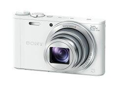 【L:在庫あり】ソニー SONYデジタルカメラ Cyber-shot(サイバーショット) DSC-WX350-W(ホワイト) 【長期安心保証対象商品】