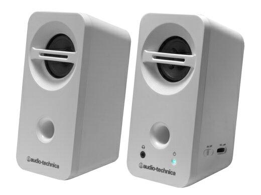 (お取り寄せ)オーディオテクニカ (Audio-Technica) アクティブスピーカー AT-SP93 WH(ホワイト)