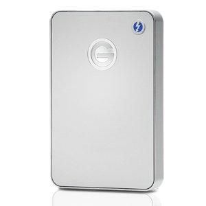 (お取り寄せ)HGST G-DRIVE mobile Thunderbolt USB 3.0 1000GB Silver JP G-Technology Silver (型番:0G03043)