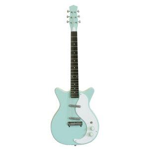 """【送料無料】Danelectro ダンエレクトロ エレクトリックギターModel 59 """"M"""" New Old Stock AQUA..."""