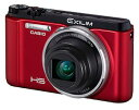 【送料無料】【spr05P05Apr13】カシオ CASIOコンパクトデジタルカメラEXILIM EX-ZR1000-RD [デ...