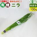 オーガニック 有機 ニラ 100g 無農薬 にら 有機野菜 炒め物に!