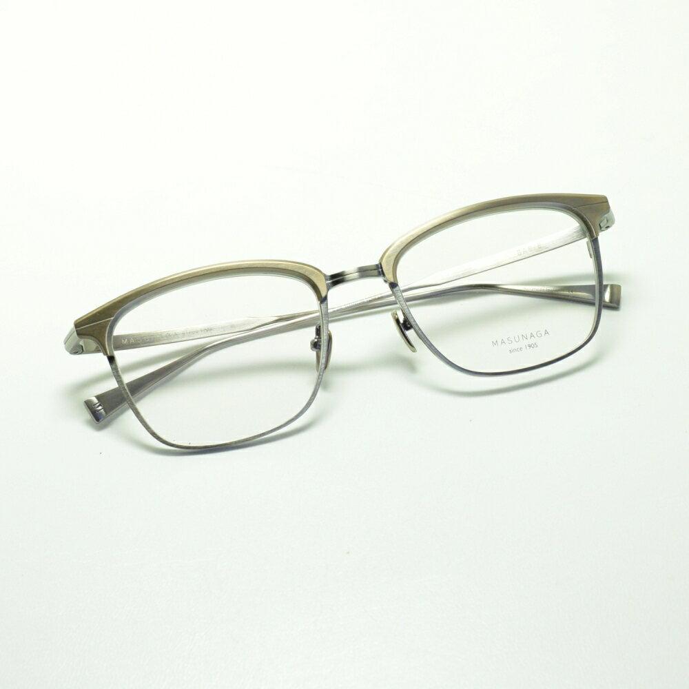MASUNAGA since 1905 BASIE col-11 ATG/ATSメガネ 眼鏡 めがね メンズ レディース おしゃれ ブランド 人気 おすすめ フレーム 流行り 度付き レンズ