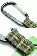 チャムス CHUMS キーキーパーCARABINER(カラビナ)カラフルPOPなベルトテープ付カラビナタイプキーホルダー