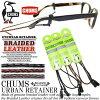 【クロネコDM便対応!】チャムス【CHUMS】メガネストラップBraided-LeatherRETAINER(CH61-0231)ブレイデッドレザーリテーナーグラスコードサングラスストラップ眼鏡ストラップ