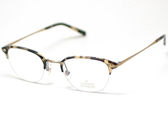 眼鏡・サングラス, 眼鏡 CLAYTON FRANKLINCF590-AGP