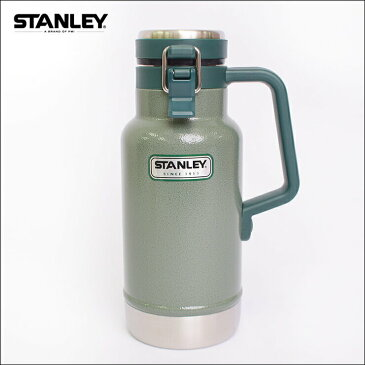 STANLEYスタンレー【Classic Vacuum Grumbler/32oz】クラシック バキューム グランブラー 0.47L グリーン ネイビー スチール水筒 ステンレスボトル 真空 保温 保冷 アウトドア キャンプ