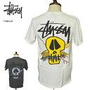 【メール便】STUSSY HO'18ステューシー【1904317】Stussy Surf Skull Pig. Dyed Teeサーフ スカル ピグ ダイドTシャツメンズ Tシャツ 半袖