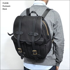 MADE IN USAFILSONフィルソン【70262-BLACK】RUCKSACKBLACKラックサック・リュック・バックパック
