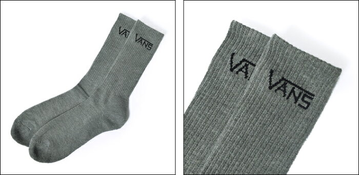 VANSFALL'14バンズ【VN-0XSEWHT】【VN-0XSEBLK】【VN-0XSEHTG】CLASSICCREWSOCK(3PAIRPK)【3足セット】靴下/メンズソックス■SIZE:9.5-13(25.5-29cm)