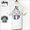 【メール便】STUSSY SU'18ステューシー【1904236】Ace S/S Pigment Dyed Teesピグメント加工 Tシャツメンズ Tシャツ 半袖