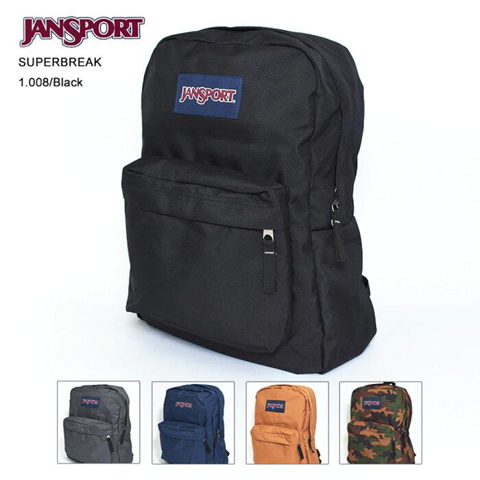 JAN SPORT ジャンスポーツ【JS00T501】SUPERBREAK BACKPACKスーパーブレイクバックパック リュック デイパック