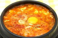 「これさえあればおんどるのスンドゥブチゲ(豆腐チゲ)が作れる!お湯にとかして野菜と豆腐を...