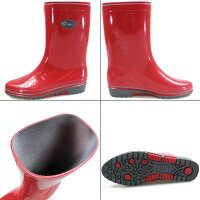 リペレインブーツ長靴レディース全4色Ripe08女性婦人日本製ビニール製耐久性防滑